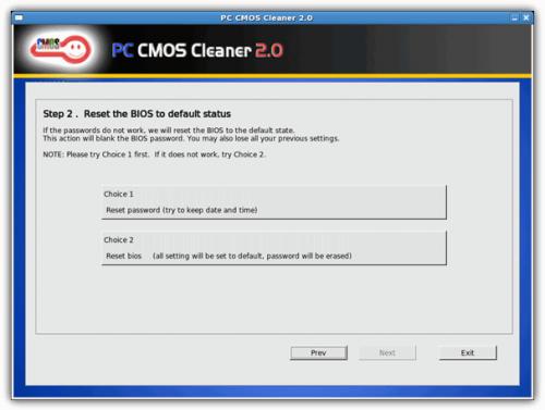 PC CMOS Cleaner