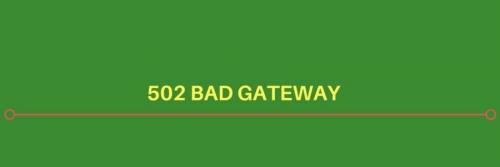 kodi 502 bad gateway