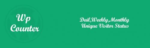 8. WP Counter – Visitor Counter WordPress Plugins