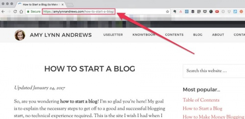 how-to-find-a-landing-page-url